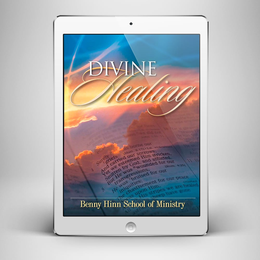 Divine Healing - Front Cover - Benny Hinn Ministries