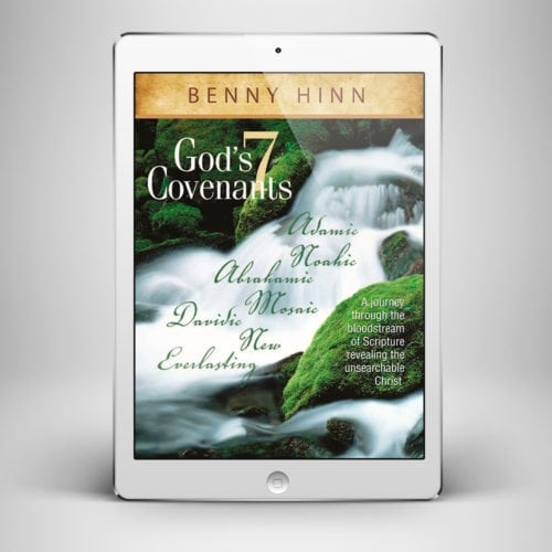 Gods Seven Covenants - Front Cover - Benny Hinn School of Ministry