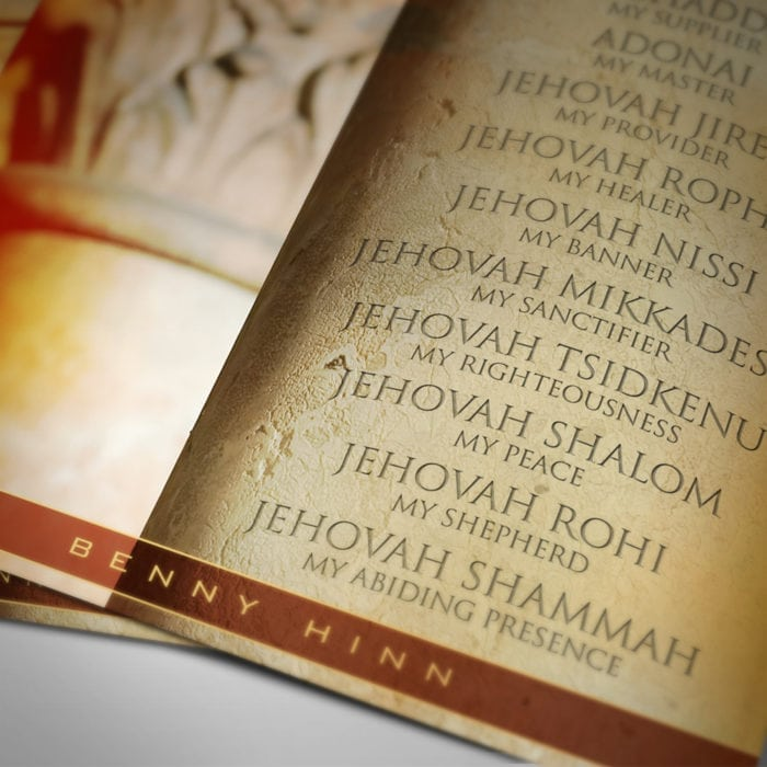 The Names of God Poster Bottom View