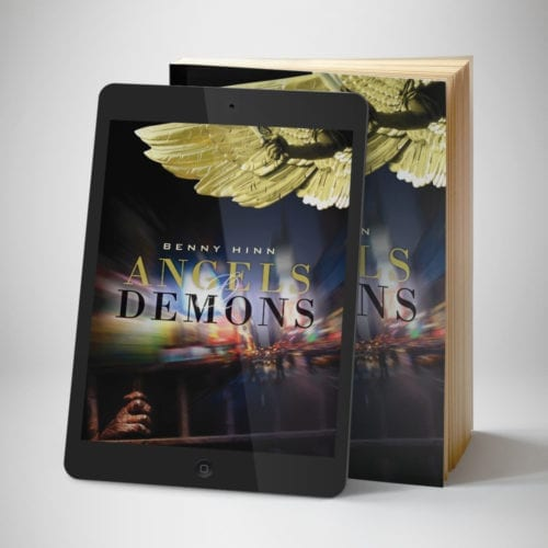 Angels and Demons eBook - front cover - Benny Hinn Ministries