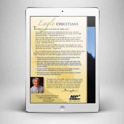 Eagle Christians - Back Cover - Benny Hinn Ministries