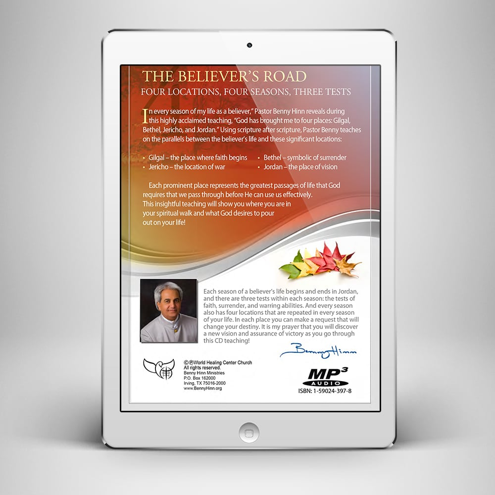 Four Locations for Every Season - Back Cover - Benny Hinn Ministries