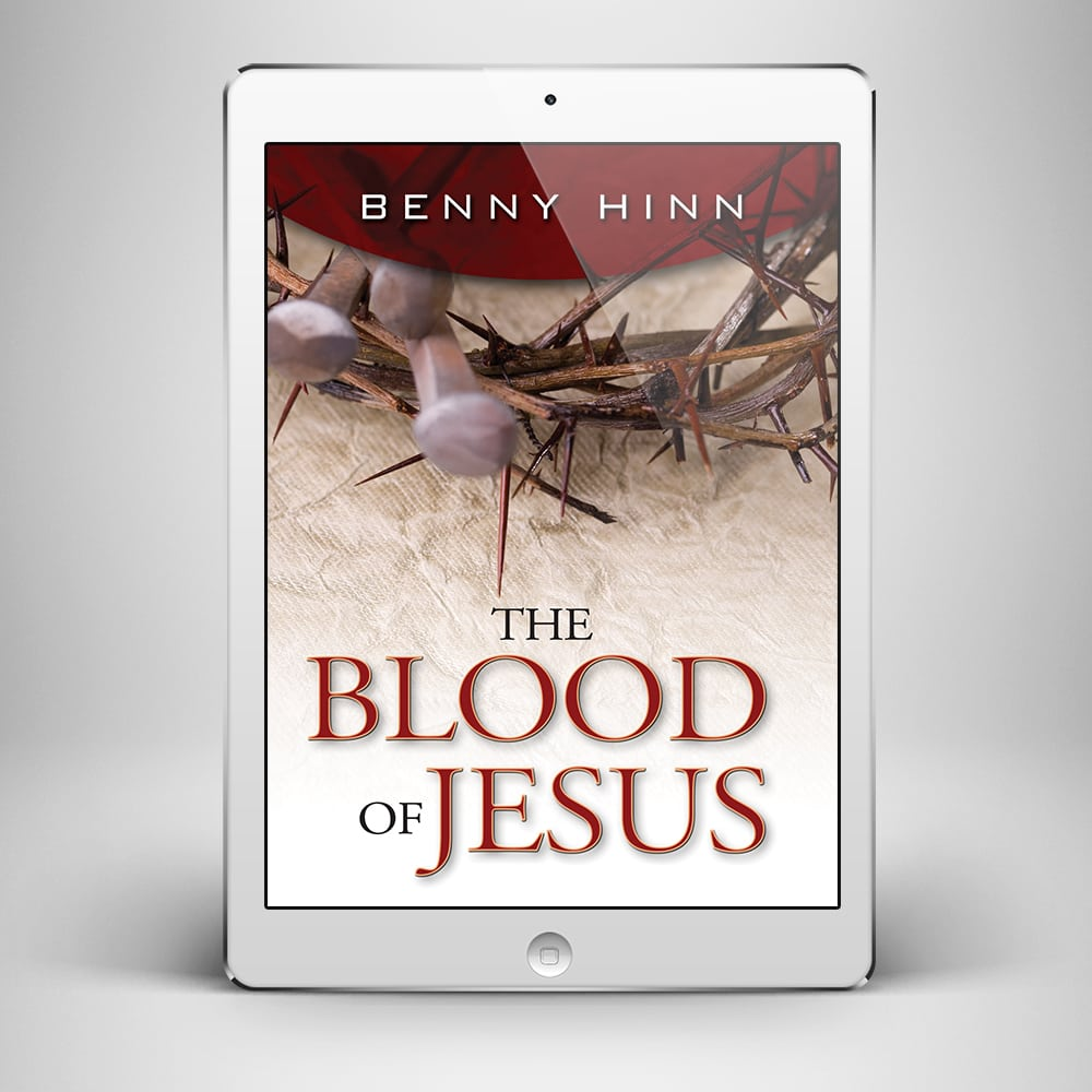 The Blood of Jesus - Front Cover - Benny Hinn Ministries