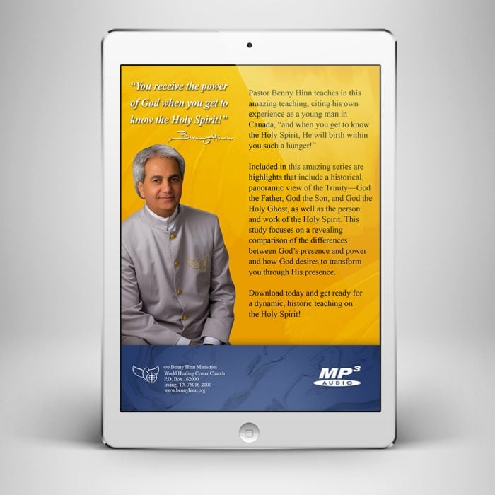 The Eternal Mighty Power of the Holy Spirit - Back Cover - Benny Hinn Ministries