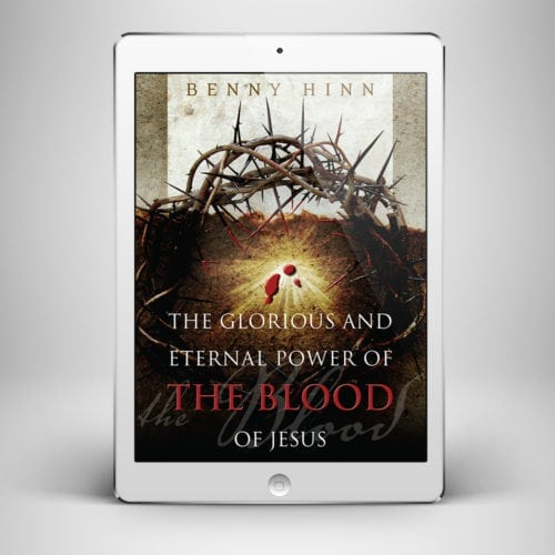 The Glorious and Eternal Power - Front Cover - Benny Hinn Ministries