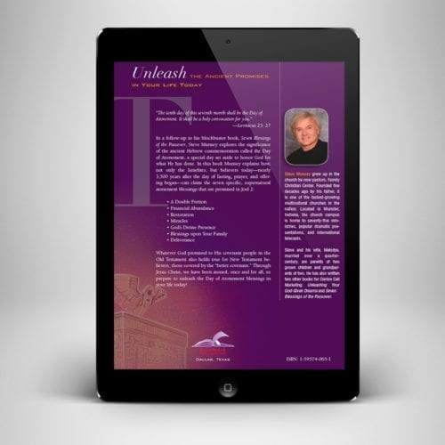 7 Blessings of The Atonement eBook - back cover - Benny Hinn Ministries