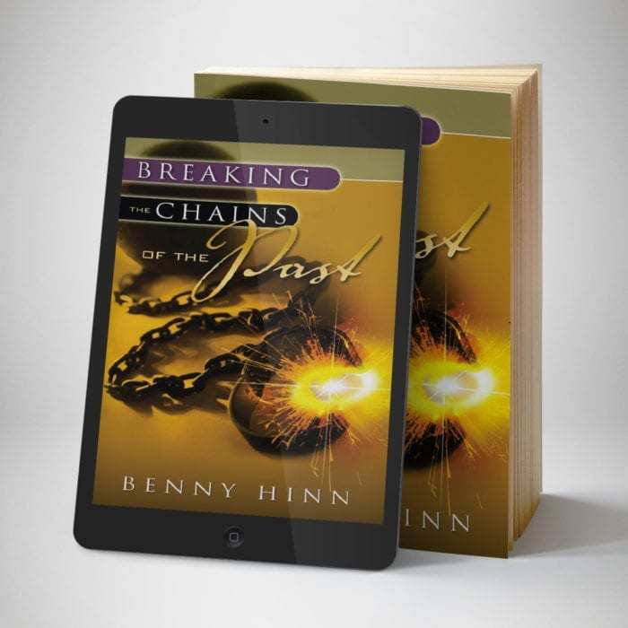 Breaking The Chains of The Past eBook - front cover - Benny Hinn Ministries