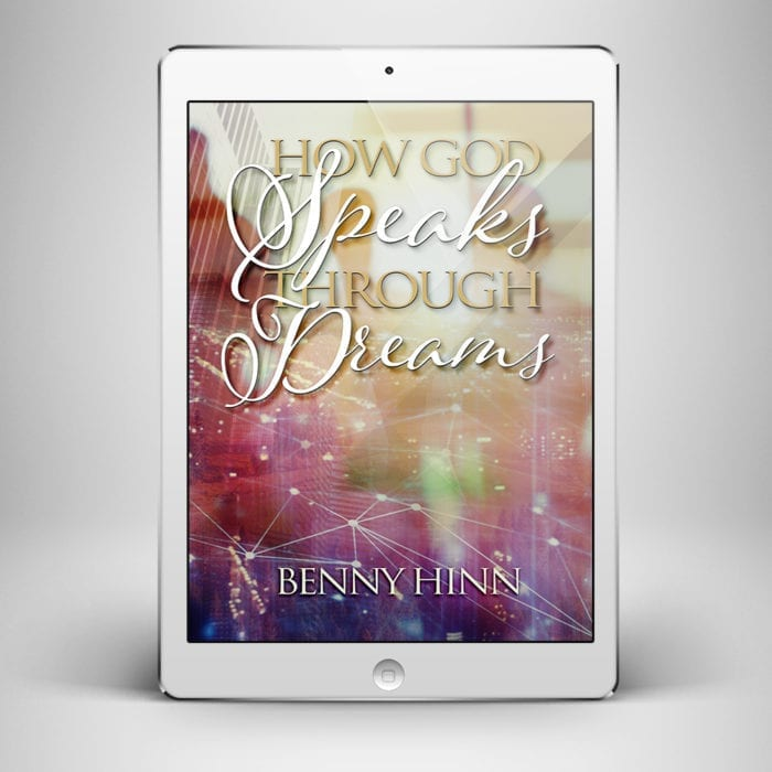 How God Speaks Through Dreams - Front Cover - Benny Hinn Ministries