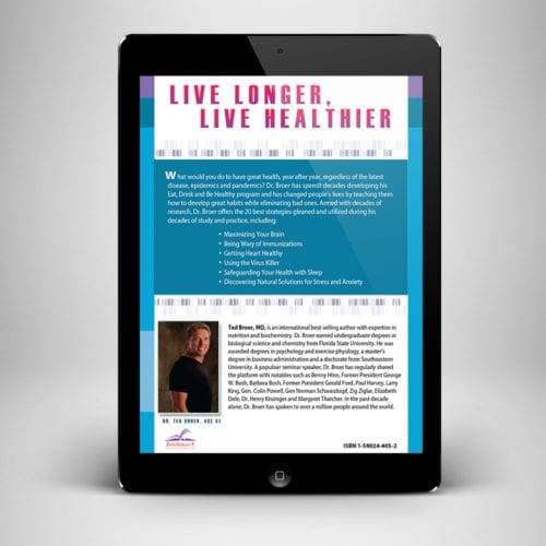 Maximum Health Ebook - Back Cover - Benny Hinn Ministries