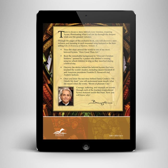 Treasury of Hymns eBook - Back Cover - Benny Hinn Ministries