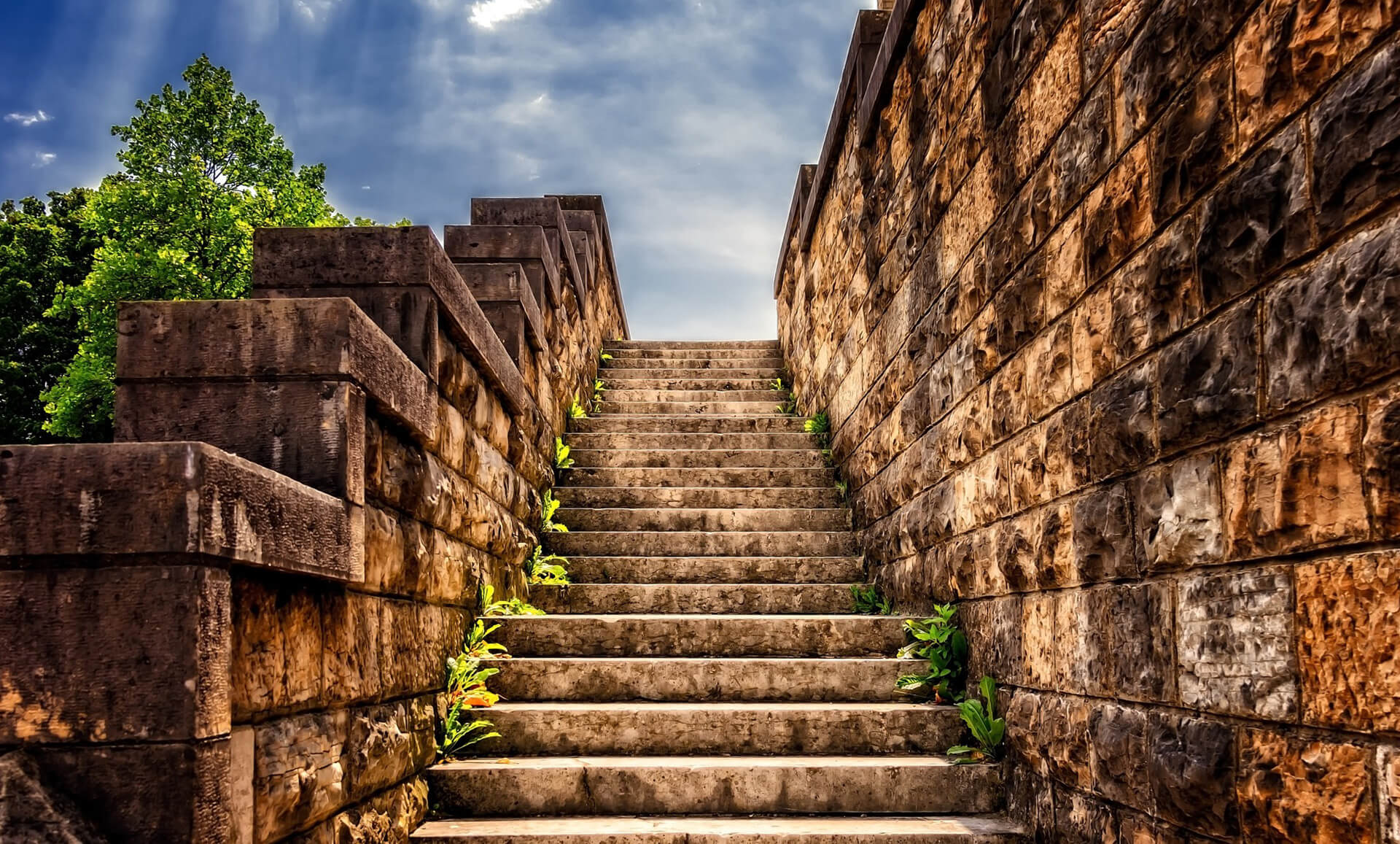 Stone stairs going up-enewsletter-Benny Hinn Ministries