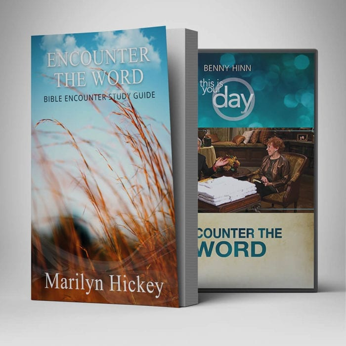 Encounter The Word Book DVD Combo - Benny Hinn Ministries