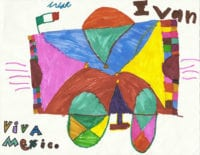 Children's cards and art from Benny Hinn Ministries mission outreach programs