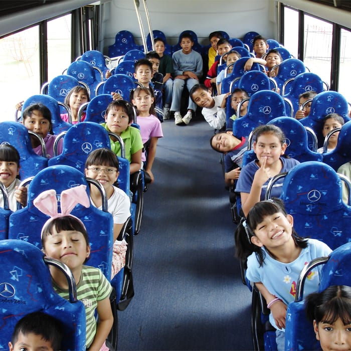 Children On The Ministry Bus - My Fathers House Mexico - Benny Hinn Ministries