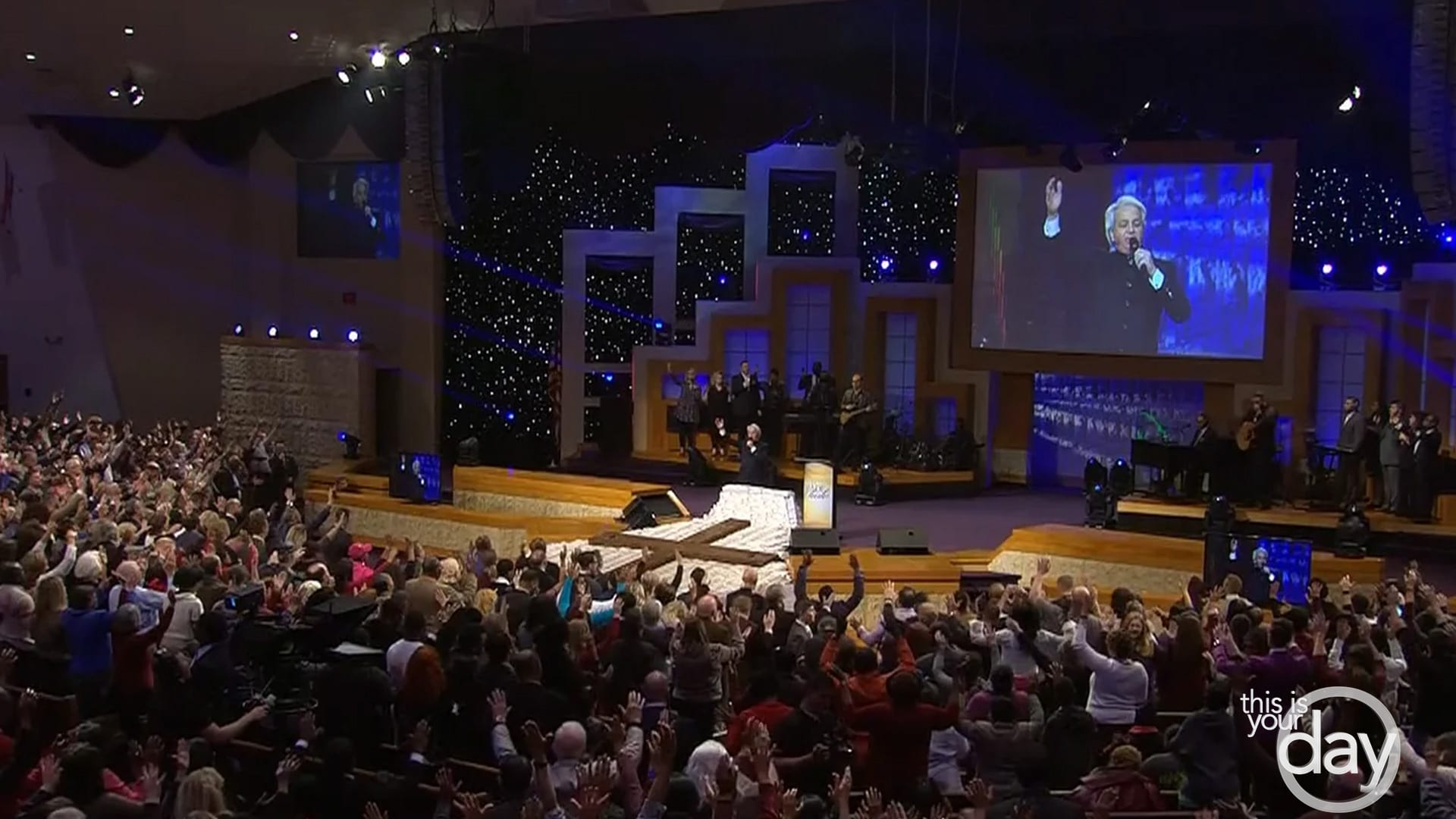 Turn Your Eyes Upon Jesus - This Is Your Day - Benny Hinn Ministries.
